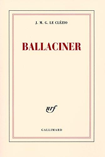 Ballaciner par J. M. G. Le Clézio