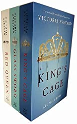 Red Queen Series Victoria Aveyard Collection 3 Books Set (Glass Sword, Cruel Crown, Red Queen)