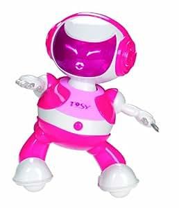 Tosy - tdp101 - Robot danseur rose DiscoRobo