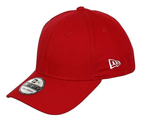 New Era Erwachsene Baseball Cap Mütze 39Thirty Stretch Back, Scarlet, M/L, 11086478 Basic Fitted Cap