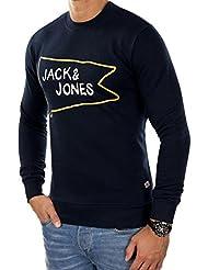 JACK & JONES Herren Pullover jorMULTI Sweat Rundhals Kapuze Regular Fit
