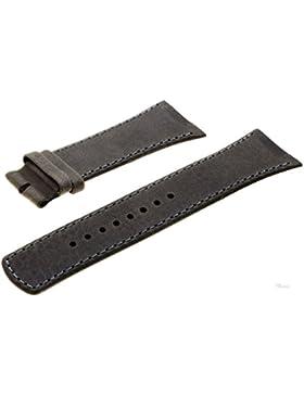 Boccia Original Lederband Armband für Uhr Modell 3165-08