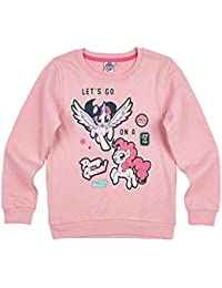 Official My Little Pony Girls Warm Jumper, Sweatshirt - New 2017/18 Collection - 3-10 Years