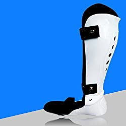 Generic white Right foot, S : JORZILANO Fixed Support Leg Ankle Foot Ddrop Correction Orthopedic Achilles Tendon Fracture Rehabilitation Foot Walker Brace