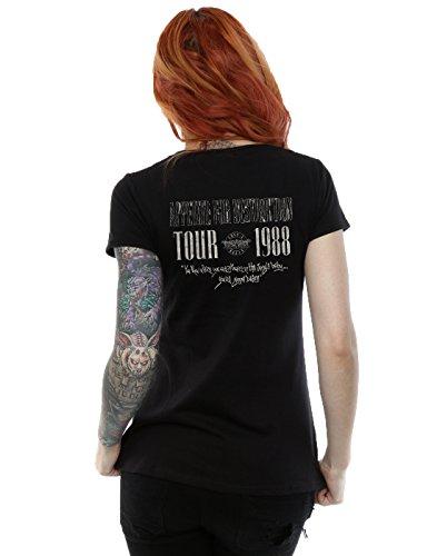 Guns N Roses Femme Tour 88 T-Shirt Noir
