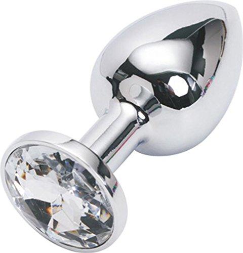 SUMERSHA 1 Stk. Kleine Anal Butt Plug mit transparent Kristall für Pony Spiel oder gag Anfänger