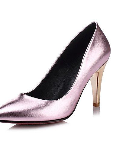 WSS 2016 Chaussures Femme-Mariage / Soirée & Evénement / Habillé-Noir / Rose / Argent / Or-Talon Aiguille-Talons / Bout Pointu-Talons-Matières pink-us8 / eu39 / uk6 / cn39
