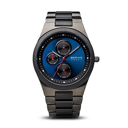 BERING Herren-Armbanduhr Analog Quarz Edelstahl 32339-788