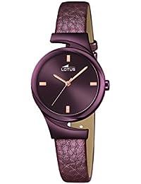 5912d85097f1 Amazon.es  Lotus - Piel   Relojes de pulsera   Mujer  Relojes