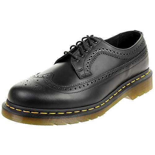 Dr. Martens 3989 Z Smooth Black Wingtip Brogue Halbschuhe schwarz Leder, Schuhgröße:EUR 47 Martens 3989 Wingtip