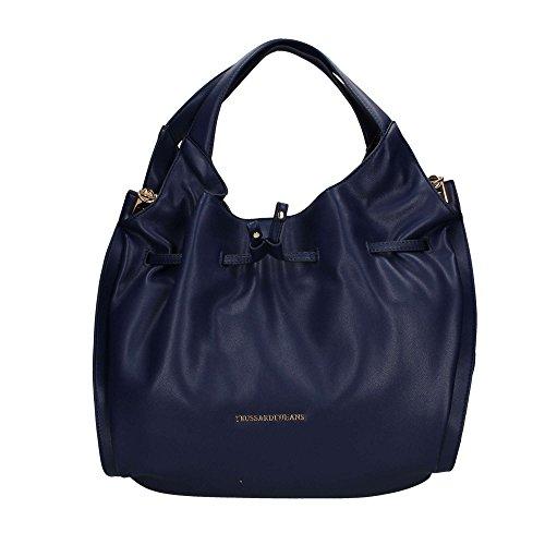 Trussardi Jeans 75B00334 Hobo tasche Damen blau UNICA -