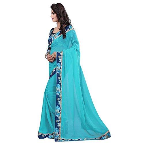 Saree (Aarohi Beautiful Georgatte saree)