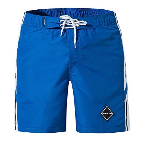 ZARLLE_Pantalones Cortos Hombre Verano Pantalones Cortos de Fitness para Hombre Culturismo Pantalones...
