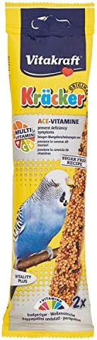 Vitakraft Budgie Cracker ACE Vitamine Seed Treat, 2 Pieces - 60 gm