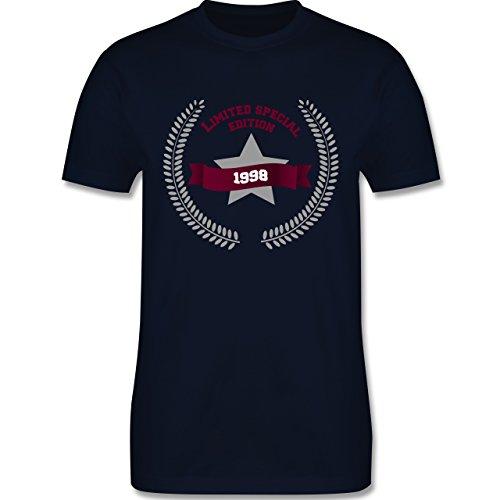 Geburtstag - 1998 Limited Special Edition - Herren Premium T-Shirt Navy Blau