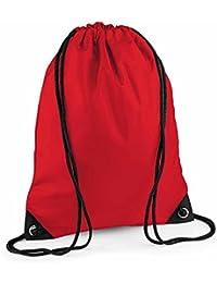 BAG BASE - sac à dos à bretelles - gym - linge sale - chaussures - BG10 - rouge classic