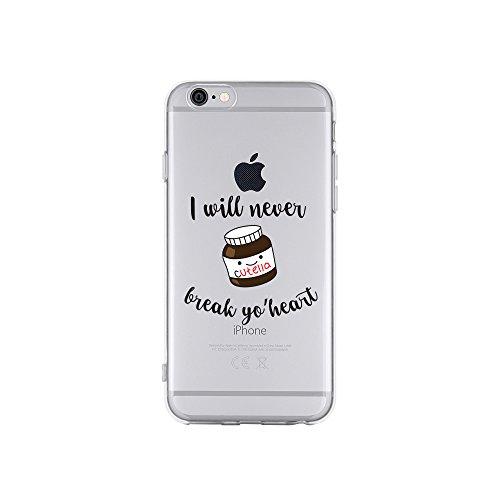 licaso Apple iPhone 6 Handyhülle Smartphone Apple Case aus TPU mit I Will Never Break Yo' Heart...