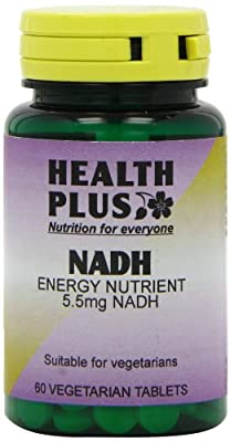 Health Plus NADH 5.5mg Energy Supplement - 60 Tablets by Health + Plus Ltd