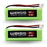 2 X batteria per telefono Medion MD82973 MD83001 MD83024 MD82622 MD83091 MD83166 MD83242 MD83274 MD83282 MD83173 MD83542 Life S63062 S63065 S63072 come VT50AAAALH2BMJZ, GPHC05RN01, GP1010 con 500 mAh