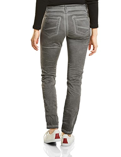 Street One Damen Hose 371142 Yulius Grau (Mellow Grey 11163)