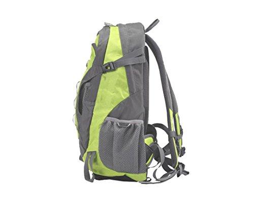 Yy.f30L All'aperto Zaino Sport Le Tattiche Campeggio Trekking Borse Attacco Piccolo Zaino Cartelle Zaini Multifunzionali (viola E Verde) Green