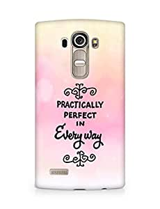 AMEZ practically perfect in every way Back Cover For LG G4