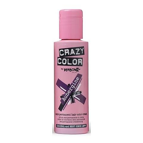 Renbow Crazy Colour Aubergine Crème Semi-Permanent 100 ml