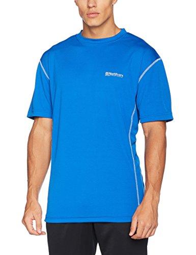 North 56-4 Herren T-Shirt 56°4 Sport Tech, Blau (Cobolt Blue 0570), XXXX-Large Preisvergleich