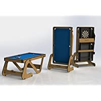 RILEY RFPT-6 6FT VERTICAL FOLDING POOL TABLE