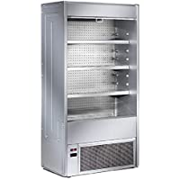 Vitrina refrigerada abierta - Profundidad 545 mm - Virtus 1500 mm