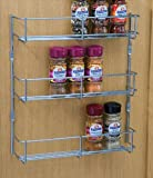 Spice and packet rack, 3 tier, 300 mm hole centres