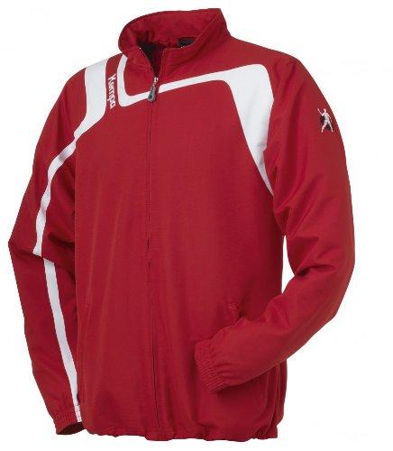 Kempa giacca Aspire Web, Unisex, Jacke Aspire Web, rosso/bianco, XXXL