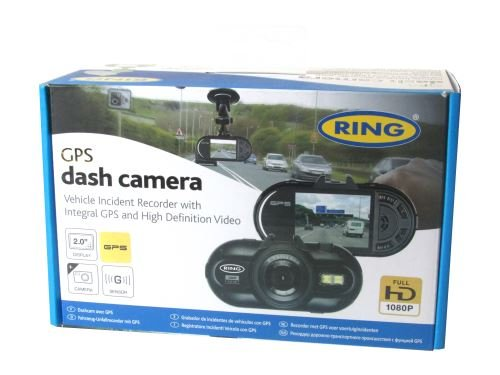 Ring Full HD Dash Cam GPS in Auto-Dashcam Kamera Recorder 5,1cm Display-rbgdc200