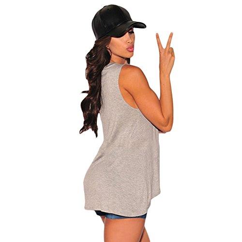 MEINICE - T-Shirt - Femme Gris