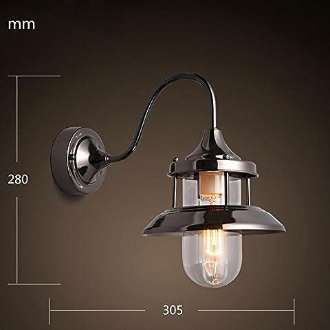 YangR*moderno industriale Vintage pendenti retrò Luce Lampada