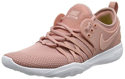 Nike Damen WMNS Free Tr 7 Sneaker, Rust Pink/White/Coral Stardust 604, 38 EU -