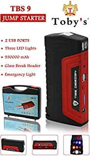 Car Multi-Function Jump Starter Charger Battery Power Bank, Charge Laptop and Mobiles, TBS 9 Toby's Jumpst