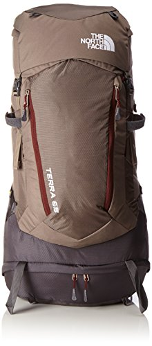 The North Face T0A1N9, Terra Zaino Unisex, Marrone/Rosso, LXL