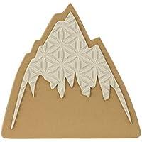 Burton Foam Mats Alfombra Antideslizante, Adultos Unisex, Mountain Logo