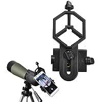 Universal teléfono móvil soporte de adaptador–Compatible con telescopio, telescopio, prismáticos, y Monocular microscopio–para Smartphone ancho 28mm-47mm–Grabar la naturaleza de el mundo