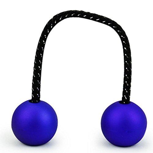 Fidget Toys,Clode® Creative Funny Sport Control Roll Game Thumb Chuck Stress Balls Decompression Toys (dark blue)