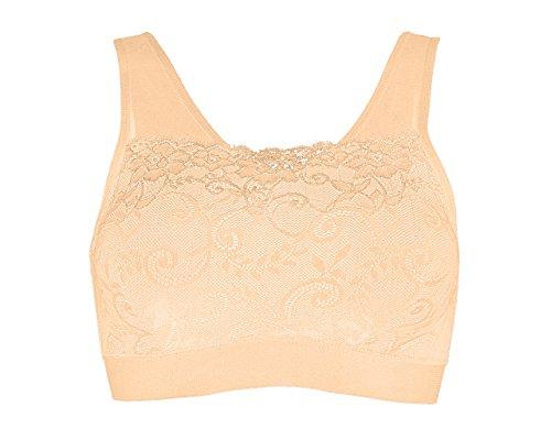 Delight Bra Padded Lace Cami UK Size 6-8
