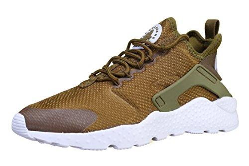 Nike-frühling (Nike Damen W Air Huarache Run Ultra Laufschuhe, Verde (Verde (Olive Flak/White)), 40.5 EU)