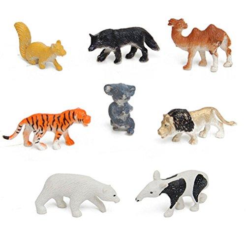 plastic-wild-animals-action-figures-toy-set-including-tigerlioncamelpolar-bearwolfhoundkoalakangaroo