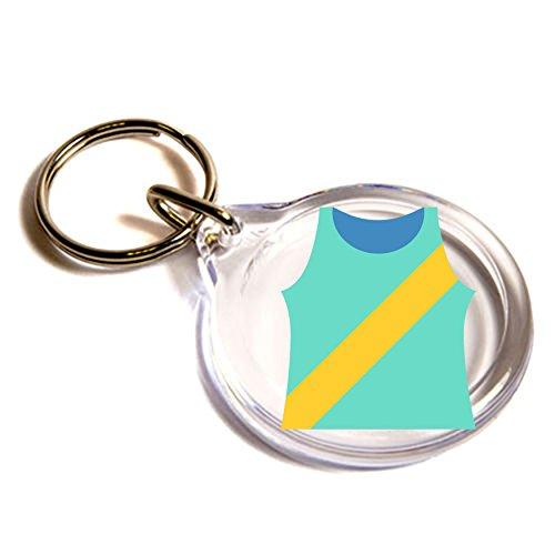 acceso-shirt-con-anta-emoji-anello-chiave-running-shirt-with-sash-emoji-key-ring