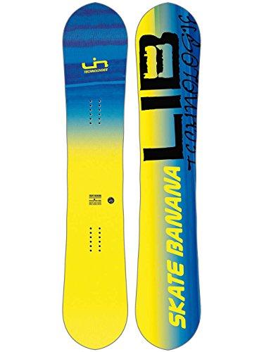 LIB Tech Herren Freestyle Snowboard Skate Banana BTX 148N 2018