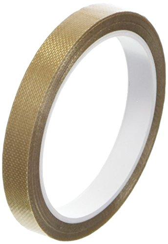 TapeCase 1/4-5-134-3 134-3 PTFE-Nastro adesivo in fibra di vetro, 1/10,16 (4 5yds x cm - 0,25 Adesivo