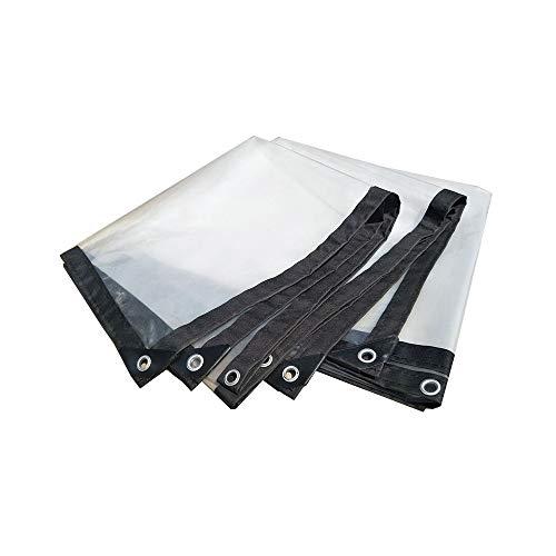 Paño grueso transparente impermeable del aislamiento del paño del toldo del pañal plástico de la lona (Tamaño : 4 * 5m)