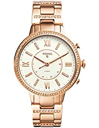 Fossil Hybrid Watch Analog White Dial Women's Watch - FTW5010