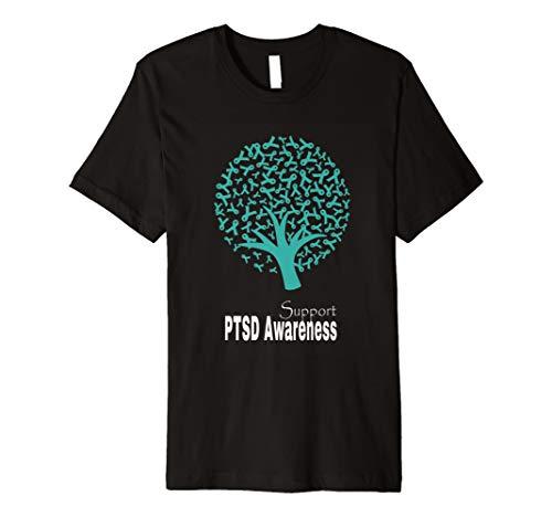 Ptsd Post traumatische belastungsstörung Bewusstsein T-Shirt Geschenk